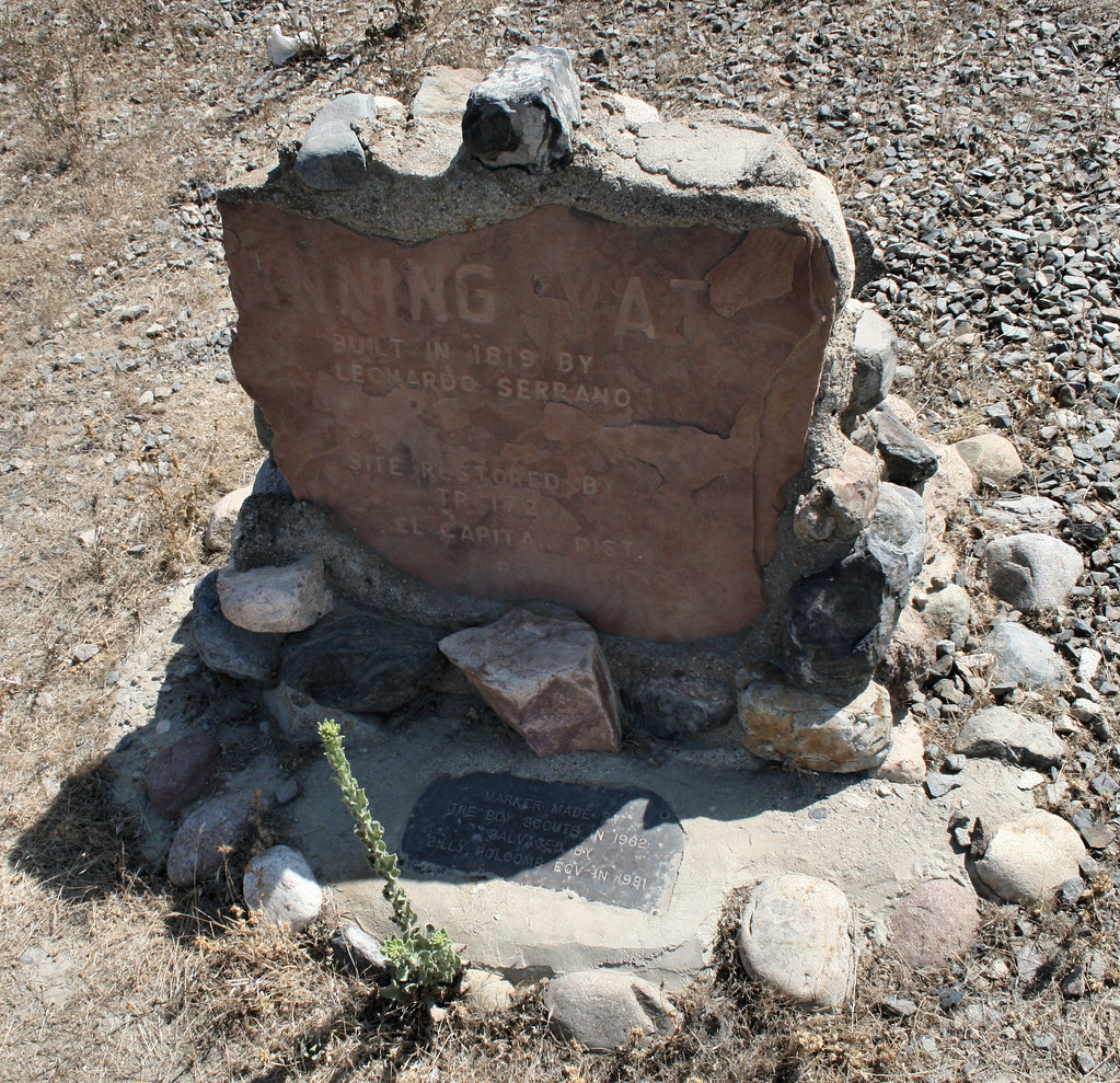 Indian Pictographs Historical Marker Riverside County