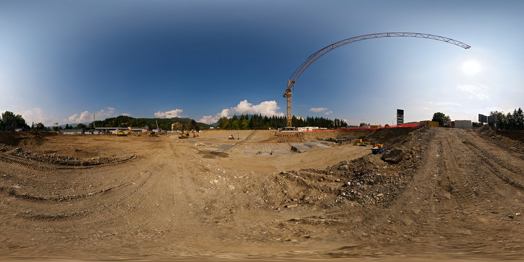 Baugrube Öbau Mössler 360°