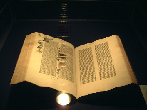 Gutenberg Bible Mainz Germany
