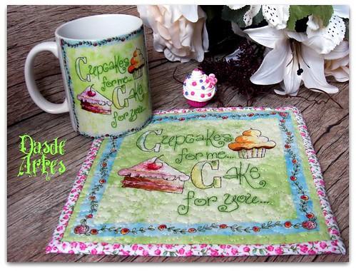 Cupcakes para mim, bolo para vc... Aceita???