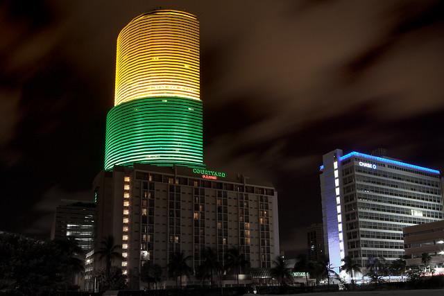 Miami Tower by Jimmy Baikovicius