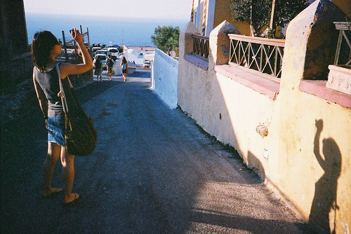 voyage travel film lomo lca santorini greece ia filmcamera 旅行 oia thira 希臘 伊亞 afgavistaiso400 vickieabby 聖托尼里 提拉島