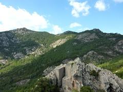 Pointe di Chirgini Visconti : la crête de Tia vers Bitalza