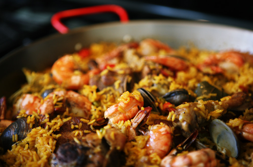 Paella Top 5 Foods in Spain