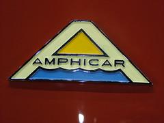Amphicar 770 logo, 1964