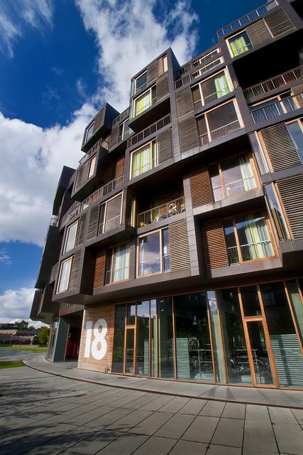 Denmark - Copenhagen - Orestad - Tietgen Dormitory 01