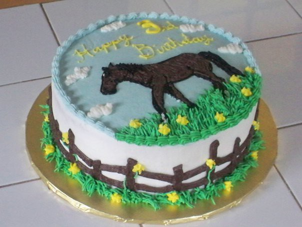 Horse cake - a gallery on Flickr