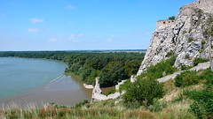 Confluence of the Danube and Morava rivers