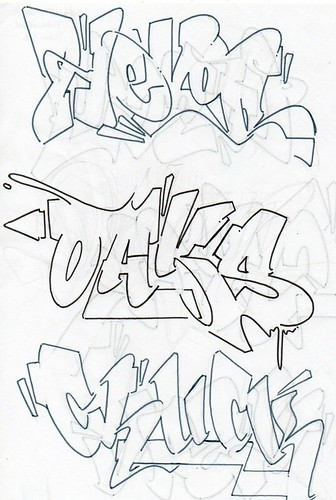 Outlines for Hevor/Oaks/Chuck by Herzo NES MVP