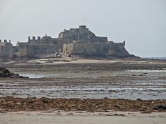 Elizabeth Castle Low Tide