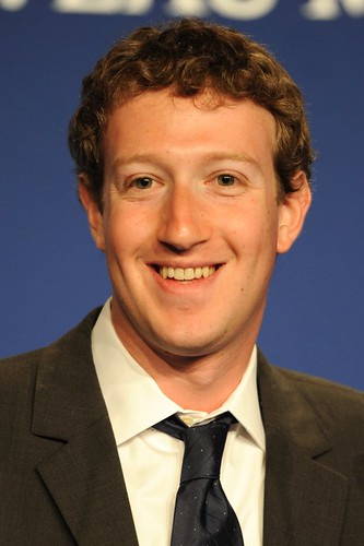 Mark Zuckerberg at the 37th G8 Summit in Deauville