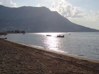 Image of Camp Galeb Sandy beach. meer urlaub kärnten ferien hunde kroatien omis sept2011