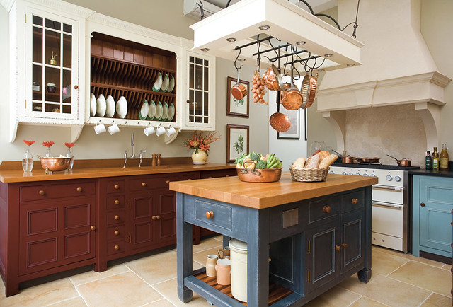 Kitchen Island Hanging Rack Explore ChalonHandmades photo ...