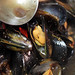 mussels in broth