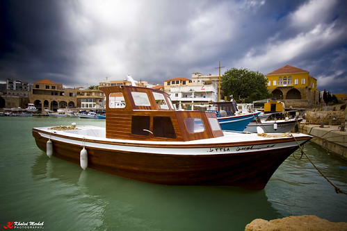 Batroun old harbor.