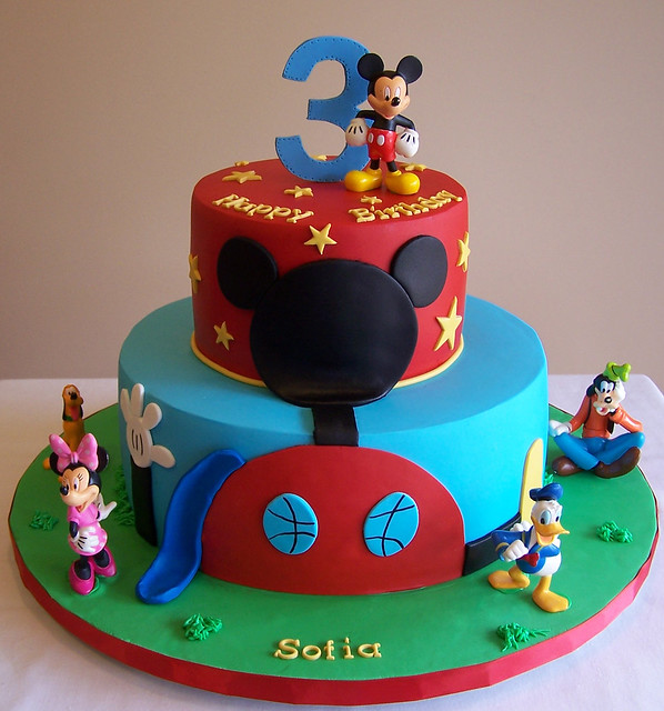 Mickey Mouse Clubhouse cake Flickr - Photo Sharing!