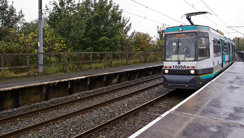 Manchester Metrolink at Woodlands Road