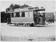 Tram in Copenhagen in 1902