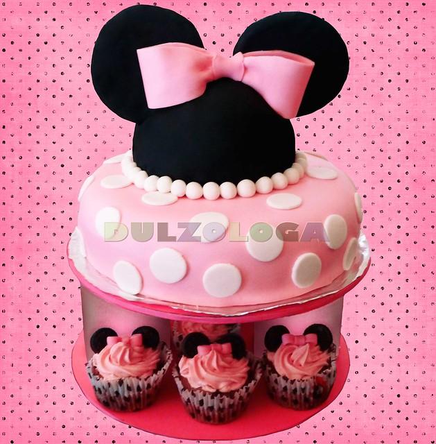 Cupcakes Decorados De Minnie Mouse Imagui