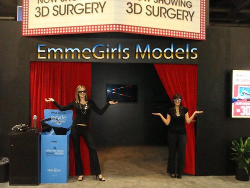 EmmeGirls Staffs Trade Show Models for Sony at American College of Surgeons ACS