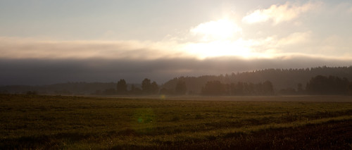 morning field fog sunrise countryside haze canonef2470mmf28lusm canoneos5dmarkii