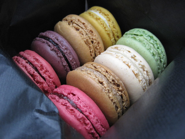 Macarons from Ladurée