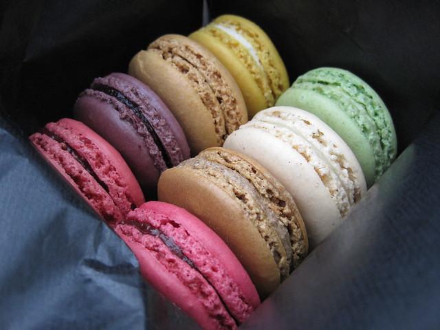 Macarons from Ladurée