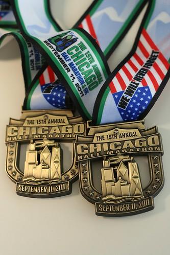 chicago half marathons