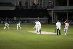 The First Ever Floodlit Cricket County Championship Match Sept 12th 2011