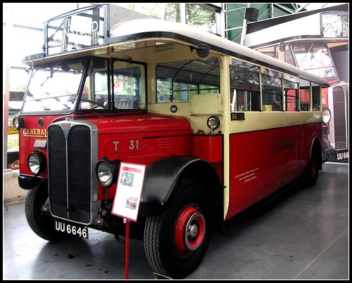 General T31 1929 AEC Regal. London Bus Museum 18/09/11.