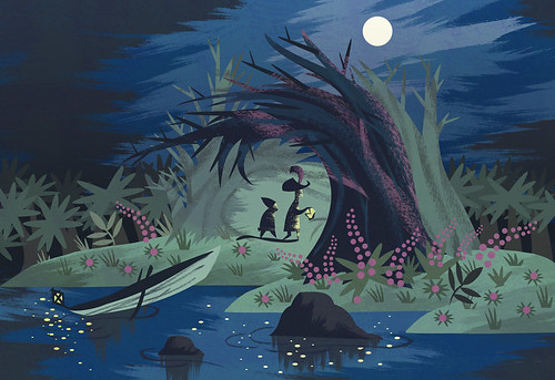 illostribute: Mary Blair
