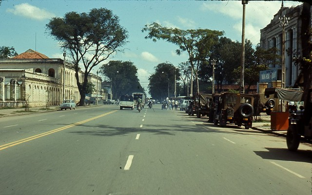 Saigon 1970 - Thong Nhut Blvd - Photo by Artzkat
