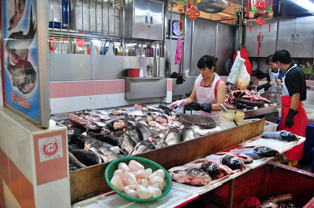 Market in Singapore (photo by fabrizioelavinia)