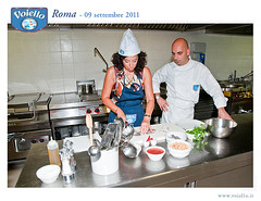 Adriana e lo chef Marcello