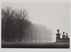 Three Urns, St. Germain-en-Laye, France, 1990, by Michael Kenna