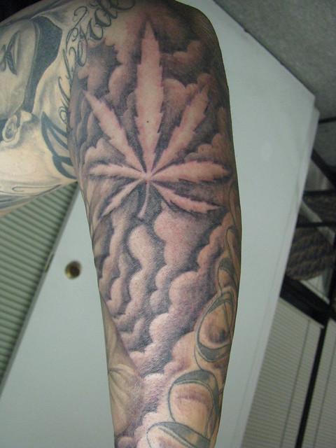 Marijuana tattoo | Flickr - Photo Sharing!