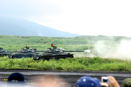 富士総合火力演習2011