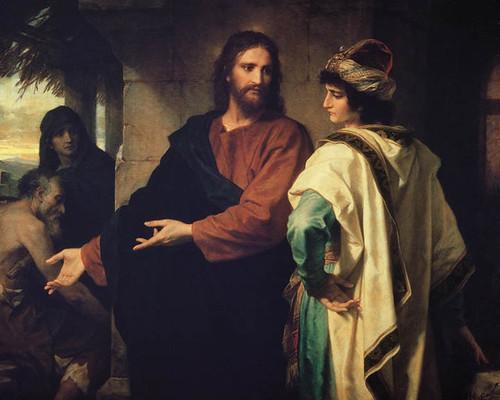 Χριστός και νεανίσκος