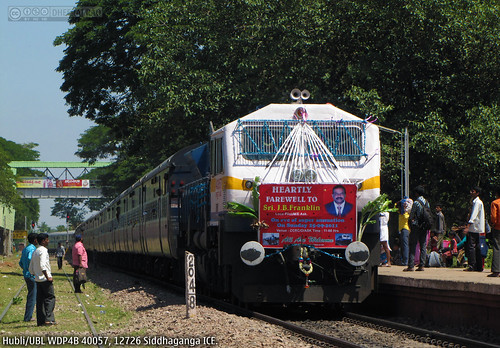 train decoration railway locomotive indianrailways emd gmemd wdp4b