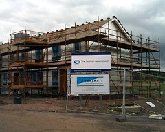 new rural social housing, Lanarkshire