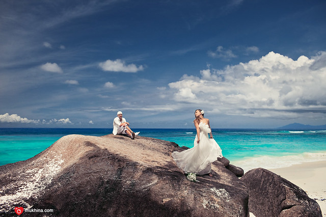 hilton labrize silhouette island resort wedding at seychelles
