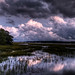 Storm Clouds at Night by Jim Crotty