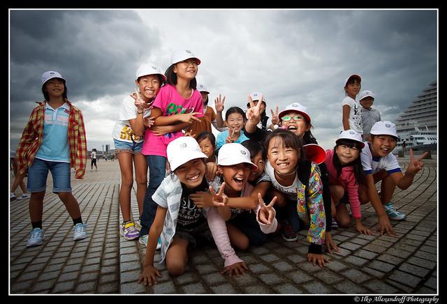 Kids in Kobe