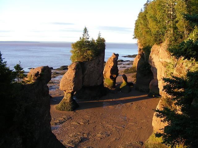 Hopewell Rocks for Sunrise