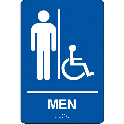 Men 39 S Bathroom Sign Flickr Photo Sharing