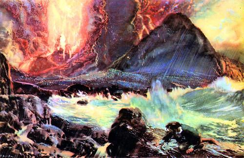 robinson_crusoe_volcanoe_by_zdenek_burian_1963