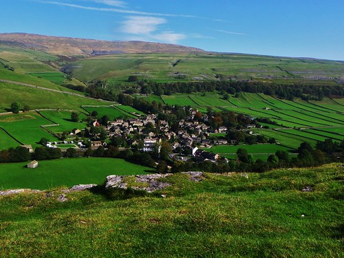 Kettlewell village from the heights !!