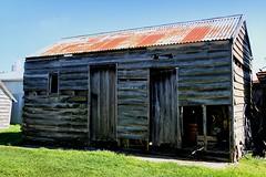 Old building, Jones Road, Templeton, Canterbury, New Zealand