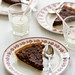 chocolate tart with hazelnuts