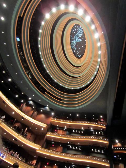 Schuster Center Ceiling
